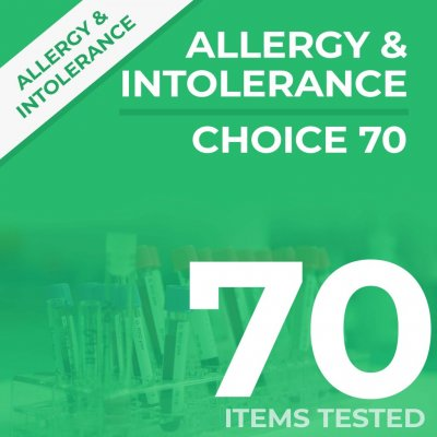 choice70 1 1024x1024 400x400 - Choice 70 Allergy & Intolerance Test